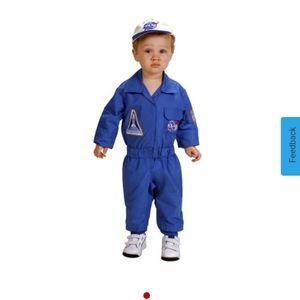 🎃 NASA flight suit costume